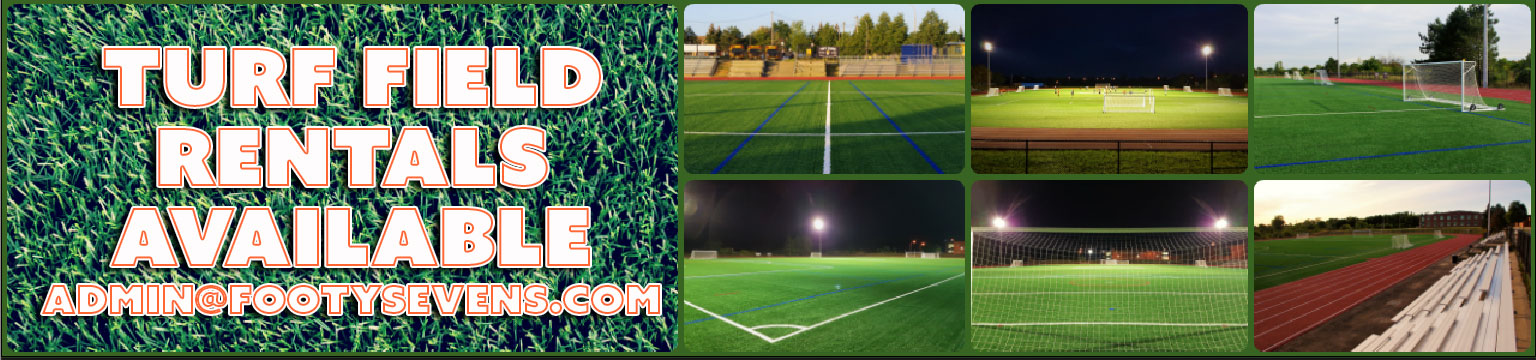Turf field rentals in Brampton
