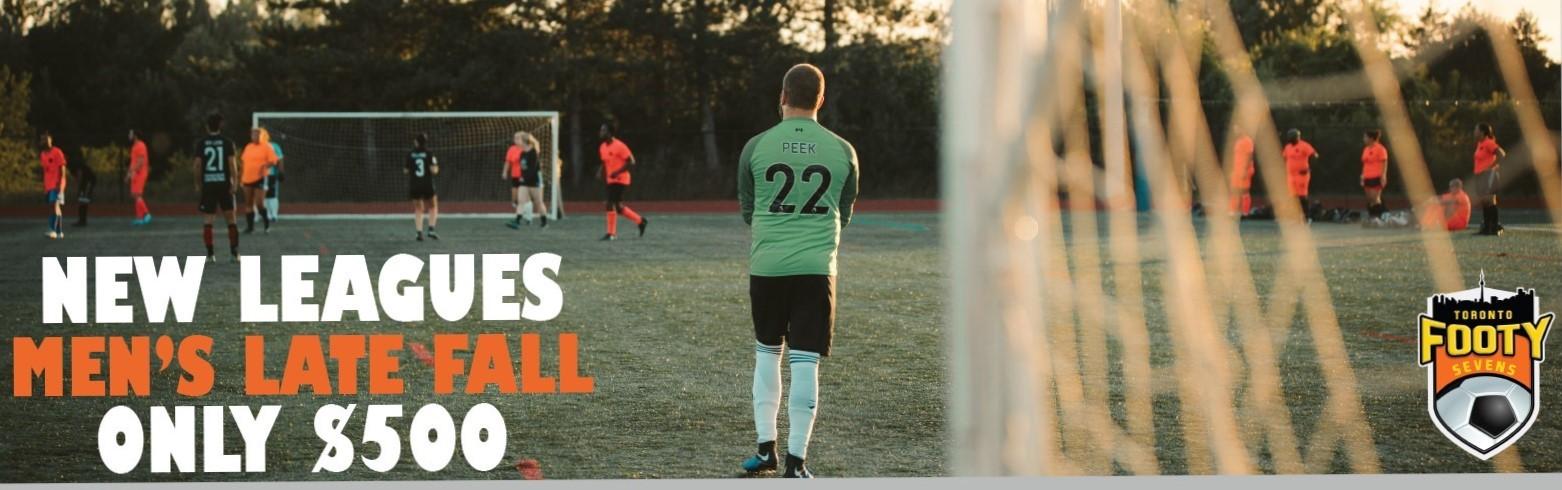 Men's Soccer Leagues, Women's Soccer Leagues and Coed Soccer Leagues
